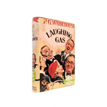 Laughing Gas by P.G. Wodehouse​​​​​​​ Sixth Printing Herbert Jenkins c.1949